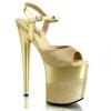 FLAMINGO-809-2G Gold Glitter